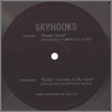Sweet Sister B/W Guitar Thunders In My Hand by Skyhooks