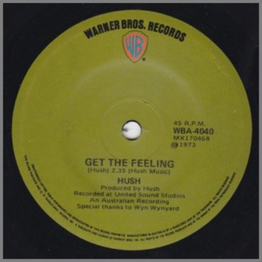Get The Feeling B/W Take Us Home by Hush