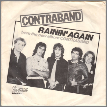 Rainin' Again B/W Too Drunk To Know by Finch/Contraband