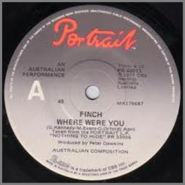 Where Were You by Finch/Contraband