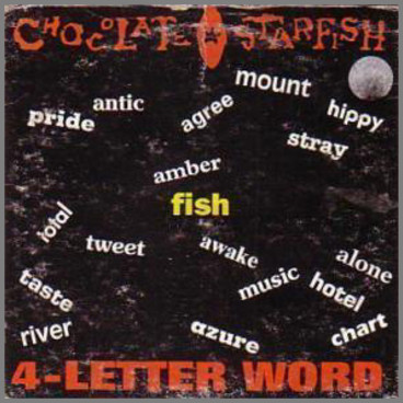 4-Letter Word by Chocolate Starfish