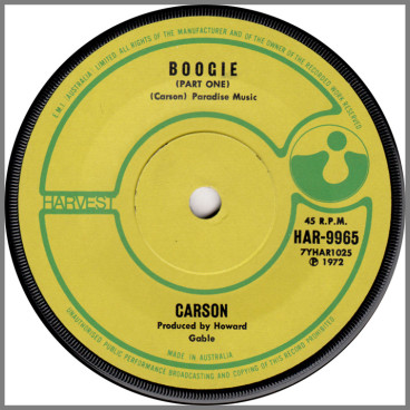 Boogie (Part One) by Carson