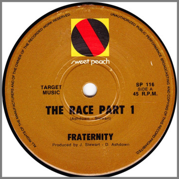 The Race Part 1 B/W The Race Part 2 by Fraternity