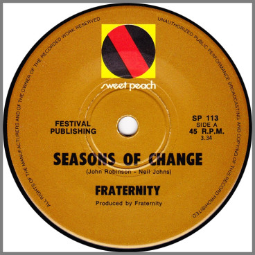 Seasons Of Change by Fraternity