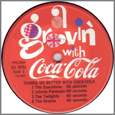 A Groovin' With Coca-Cola by The Groove