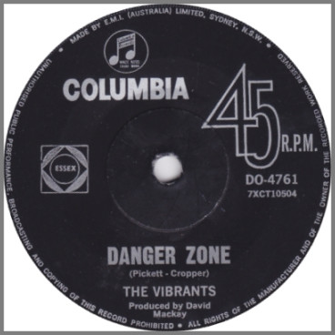 Danger Zone B/W Something About You, Baby by The Vibrants
