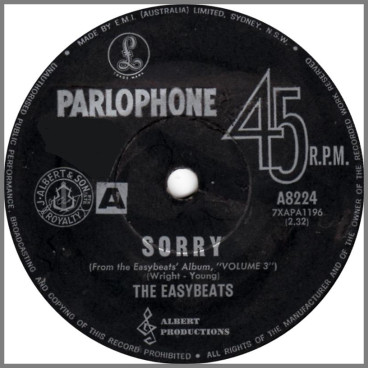 Sorry by The Easybeats