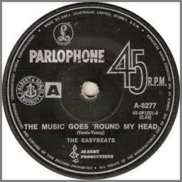 The Music Goes 'Round My Head B/W Come In You'll Get Pneumonia by The Easybeats