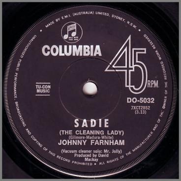 Sadie (The Cleaning Lady) by John Farnham