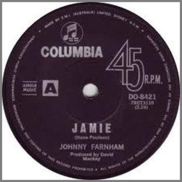 Jamie B/W I Don't Want To Love You by John Farnham