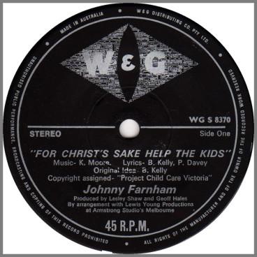 For Christ's Sake Help The Kids by John Farnham