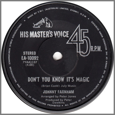 Don't You Know It's Magic by John Farnham