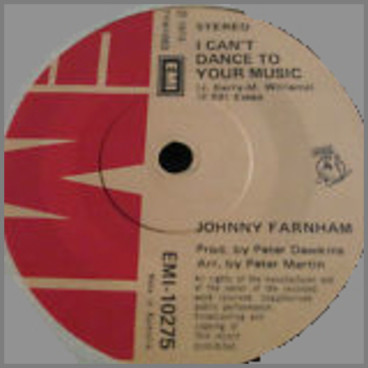 I Can't Dance To Your Music B/W Beautiful City  by John Farnham