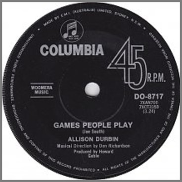 Games People Play by Allison Durbin