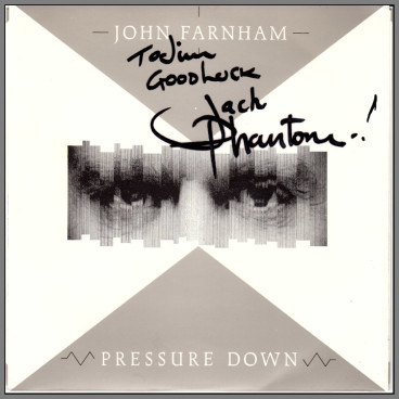 Pressure Down B/W Let Me Out by John Farnham