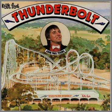 Thunderbolt B/W Dream World by John Paul Young