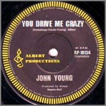 You Drive Me Crazy by John Paul Young