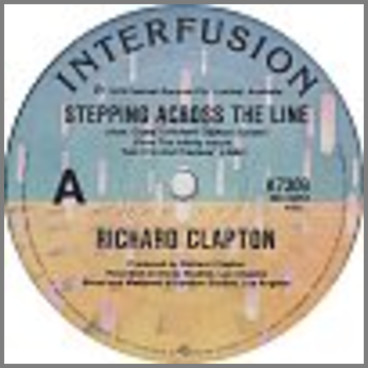 Stepping Across The Line B/W Suit Yourself by Richard Clapton