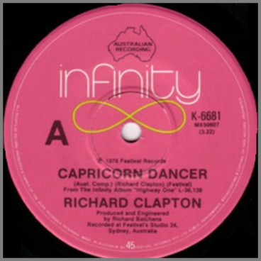 Capricorn Dancer B/W Babe Rainbow by Richard Clapton