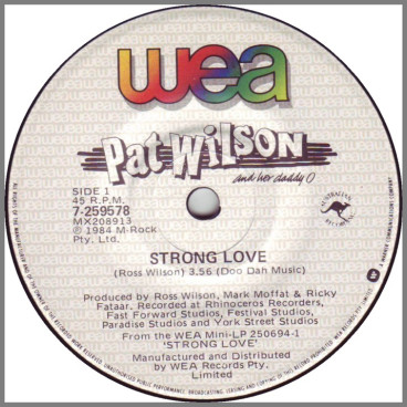 Strong Love B/W Tacky Too* by Pat Wilson