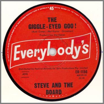 The Giggle-Eyed Goo! B/W Rosalyn by Steve & The Board