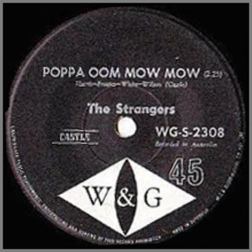 Poppa Oom Mow Mow B/W Sunday Kind Of Love by The Strangers