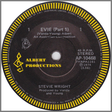 Evie (Parts 1, 2 & 3) by Stevie Wright