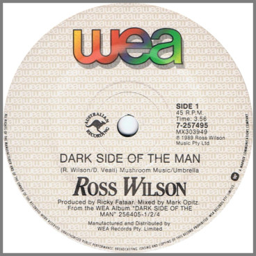 Dark Side Of The Man by Ross Wilson