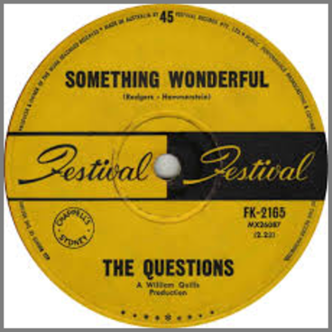 Something Wonderful B/W We Got Love by The Questions