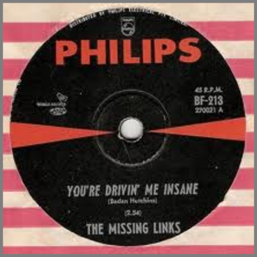 You're Drivin' Me Insane B/W Something Else by The Missing Links