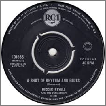 A Shot Of Rhythm And Blues B/W Take Your Time by The Denvermen