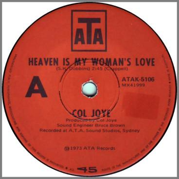 Heaven Is My Woman's Love by Col Joye