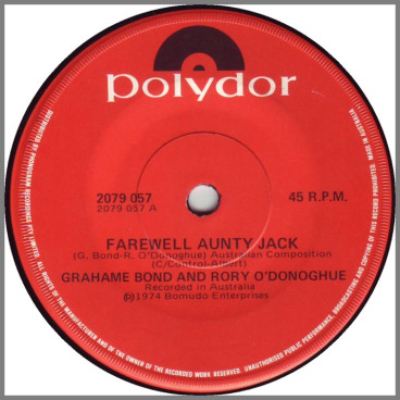 Farewell Aunty Jack by Grahame Bond & Rory O'Donoghue