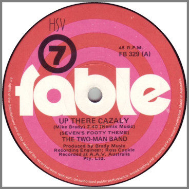 Up There Cazaly by Two-Man Band