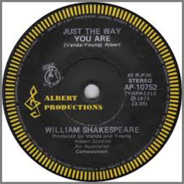 "Just The Way You Are B/W On Saturday Night by John Cave aka ""William Shakespeare"""