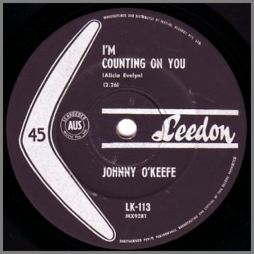 I'm Counting On You by Johnny O'Keefe