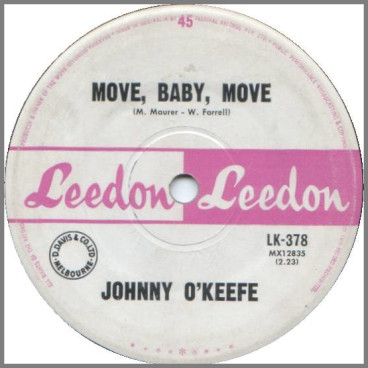 Move Baby Move by Johnny O'Keefe