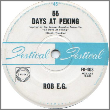 55 Days At Peking by Robie Porter aka Rob E.G.