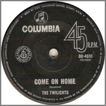 Come On Home by The Twilights