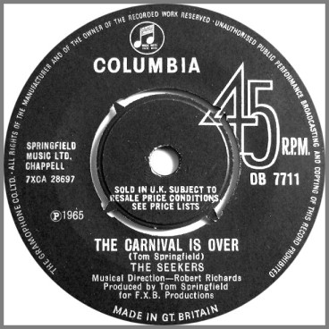 The Carnival Is Over by The Seekers