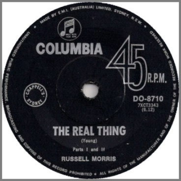 The Real Thing by Russell Morris