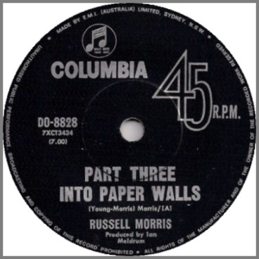 Part Three Into Paper Walls by Russell Morris