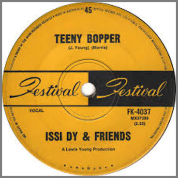 """Tenny Bopper B/W Simple Song by Israel """"Issi Dy"""" Dyzenhaus"""