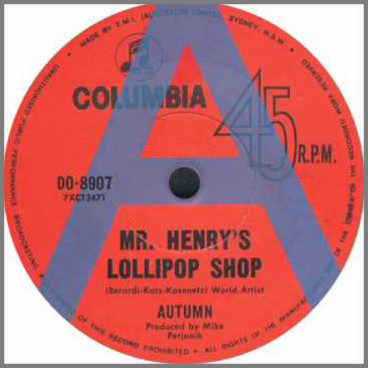 Mr. Henry's Lollipop Shop B/W Today by Autumn