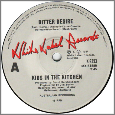 Bitter Desire by Kids In The Kitchen