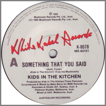 Something That You Said by Kids In The Kitchen