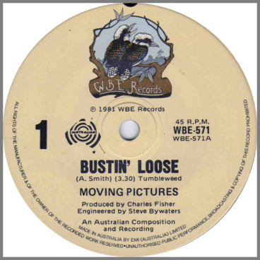 Bustin' Loose by Moving Pictures