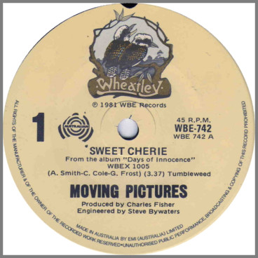 Sweet Cherie by Moving Pictures