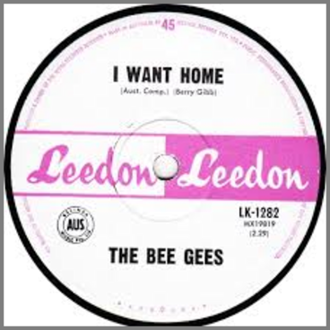 I Want Home B/W Cherry Red by The Bee Gees