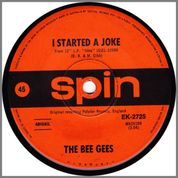 I Started A Joke by The Bee Gees